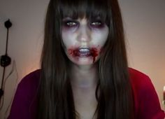 Zombie Makeup Ideas and Tutorial For Halloween