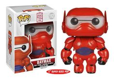 "It's Baymax from Disney's action-packed comedy-adventure ""Big Hero 6"". The plus-sized inflatable robot has been given the POP treatment! Check out all of Funko's ""Big Hero 6"" POP! Figures!  #funko #funkopop #popvinyl #toy #actionfigure #collectible"