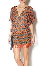 Sofia By Vix Fringe Caftan $98.00 - Buy it here: http://lmz.co/mNwHM2