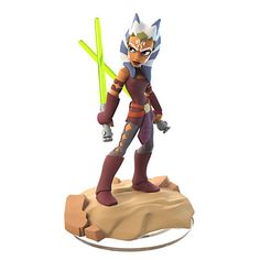 This is a Disney Infinity Edition: Star Wars Ahsoka Tano Single Figure. Features : This is a Disney Infinity Edition: Star Wars Ahsoka Tano Single Figure Product dimensions : L: 5 X W: 2 X H: 3 Star Wars Rebels, Star Wars Clone Wars, Disney Pixar, Star Wars Disney, Disney Art, Star Wars Clones, Figuras Disney Infinity, Zbrush, 3d Character