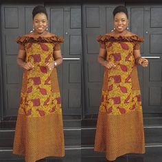Ankara gowns can make you look good. Here are some lovely ankara gowns that can make you look good for your occasions. Ankara Gown Styles, Ankara Dress, Ankara Gowns, Dress Styles, African Fashion Ankara, African Print Fashion, African Prints, African Attire, African Wear