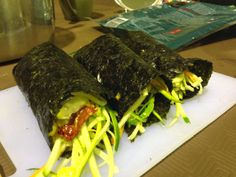 Raw sushi Fit Food Travel