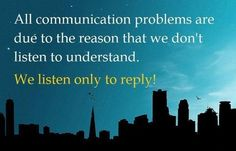 listen to undertand