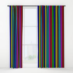 """Your drapes don't have to be so drab. Our awesome Window Curtains transform a neglected essential into an awesome statement piece. Featuring a single-sided print with a reverse white side.     - Dimensions: 50"""" (W) x 84"""" (H)   - Available in single or double panel options   - Crafted with 100% lightweight polyester, blocks out some light   - 4"""" hanging pocket for easy hanging on any rod   - Single side print on front with reverse white side   - Machine wash cold, tumble dry low Window Curtains, Wall Prints, Windows, Graphics, Cold, Pocket, Awesome, Easy, Crafts"""