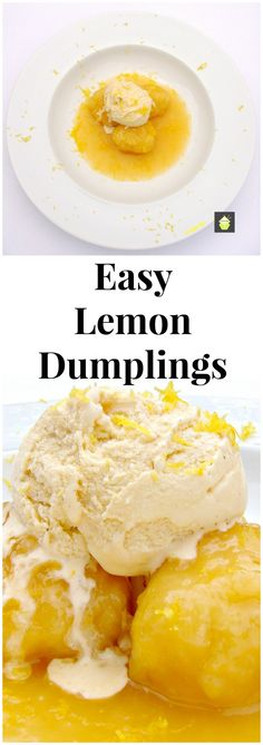 Easy Lemon Dumplings