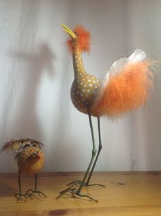 Gourd birds hechos por sandra granger spiak