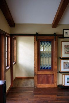 "Interior Barn Door With Glass glass barn door"" design ideas, pictures, remodel, and decor - page"