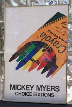 Mickey Myers Crayola