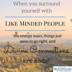 Public Speakers - Surround Yourself With Like Minded People
