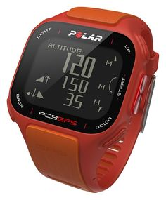 Amazon.com: Polar RC3 GPS with Heart Rate Monitor, Red/Orange: Electronics