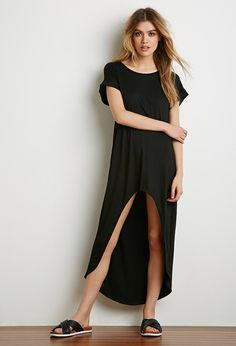 Dropped Hem T-Shirt Dress | Forever 21 - 2000140561