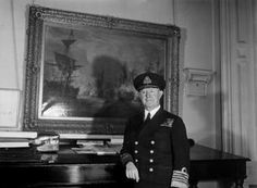 THE FIRST SEA LORD. OCTOBER 1944, ADMIRALTY.