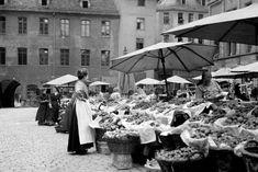 Markt in Nürnberg:  Die Obst- und Gemüsestände dieser Stadt waren ebenfalls...
