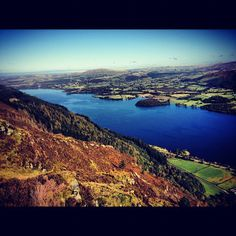 Bassenthwaite Lake in Keswick, Cumbria
