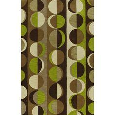 Russet Chocolate Rectangular Wool Rug (8' x 10')
