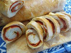 Lisa's Swirly Pepperoni Bread. http://portuguesediner.com/tiamaria/pepperoni-bread/