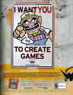 WarioWare DIY - WarioWare Do It Yourself - WarioWare games - Nintendo