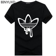b5c731897c 2018 New Summer Cotton Funny T Shirts Short sleeves T-shirt Men Fashion  Tide brand