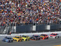 Best of the 2016 Daytona 500:     Jimmie Johnson ﴾48﴿ leads Kyle Busch ﴾18﴿, Matt Kenseth:   Jimmie Johnson ﴾48﴿ leads Kyle Busch ﴾18﴿, Matt Kenseth ﴾20﴿ , Denny Hamlin ﴾11﴿, and Martin Truex Jr. ﴾78﴿.