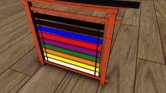 Karate belt display rack plans