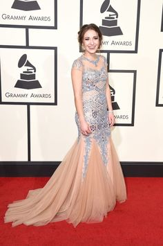 Lauren Daigle arrives at the 58th Annual GRAMMY Awards on Feb. 15 in Los Angeles