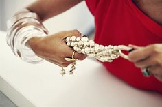 Accessorizing Dior