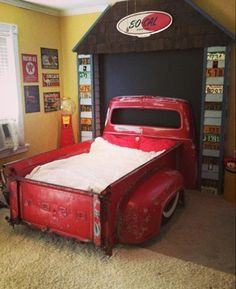 Forget a car bed, mini truck bed! #lowerit