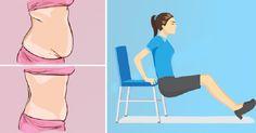 5 תרגילי כושר שתוכלו לעשות כשאתם יושבים על כיסא ולהיפטר מהמשקל העודף בבטן