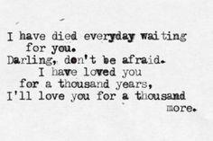 """""""A Thousand Years,"""" Christina Perri"""