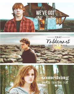 Why is everything that involves Harry, Ron, and Hermione so emotional to me!