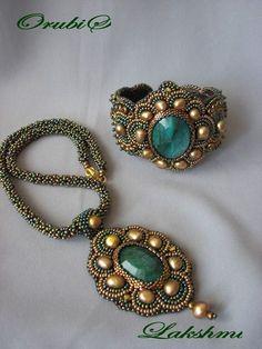 crafty jewelry: embroidery necklace | make handmade, crochet, craft