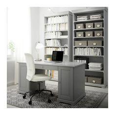 ecdd43921049 LIATORP Bookcase IKEA Cornice and plinth rail help create a uniform  expression when two or more