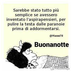 Buonanotte Divertente Mafalda 1 Good Morning Good Night Good