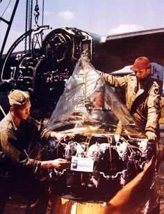 Radial Engine, Aircraft Maintenance, Contemporary Photographers, Royalty Free Pictures, Ww2 Aircraft, Aircraft Design, New Engine, Colorful Pictures, World War Ii