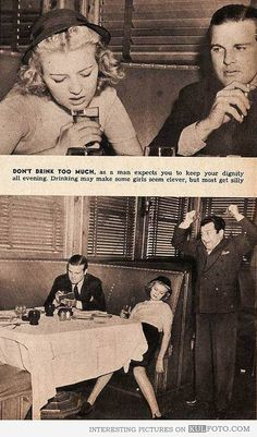 1950s dating advice