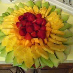 Fruit tray!