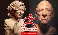 30 Best Zbrush Tutorials and Training Videos for Beginners. Read full article: http://webneel.com/zbrush-tutorial | more http://webneel.com/3d-characters | Follow us www.pinterest.com/webneel