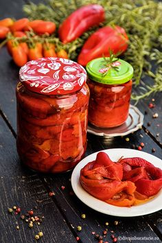 Romanian Food, Love Food, Pickles, Healthy Recipes, Vegetables, Hip Bones, Diet, Fine Dining, Preserves