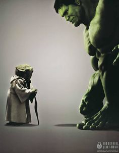Anger is the path to the dark side hulk