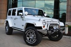 2011 Jeep WRANGLER 4X4 ATLAS EDITION*4 INCH LIFT*35 INCH TIRES*CHROME RIMS - Click to see full-size photo viewer