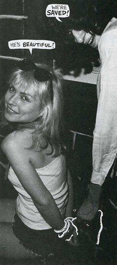 "Stay Pulp: Debbie Harry e Joey Ramone ""si legano"" per Punk Magazine, Blondie Debbie Harry, Punk Magazine, Joey Ramone, Pop Rock, Rock N Roll Music, Rockn Roll, The Clash, Ramones, Music Icon"