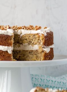 Grain-Free Hummingbird Cake that's tender, perfectly sweet, and naturally gluten-free, dairy-free, and refined sugar-free.