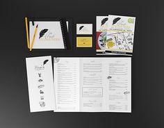 "Check out new work on my @Behance portfolio: ""Branding ""Bar Ristorante Pluma Nera """" http://be.net/gallery/52469265/Branding-Bar-Ristorante-Pluma-Nera-"