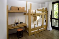Bunk beds by James Mudge