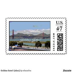 Golden Gate!! (eliso) Estampilla