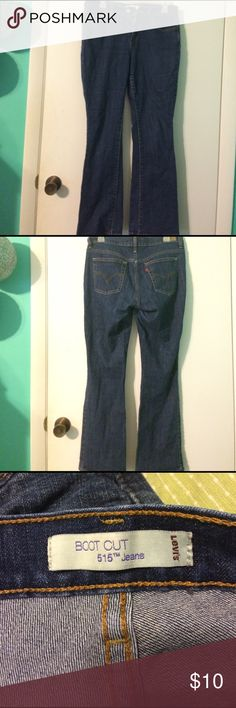 Shop Women s Levi s Blue size 6 short Boot Cut at a discounted price at  Poshmark. 433bf50785