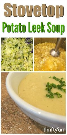 soup potato leek soup potato leek soup potato leek gold potato es ...