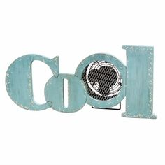 "Deco Breeze Wooden ""Cool"" Fan"