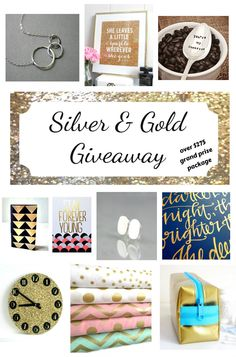 Silver and Gold Grand Prize Package Giveaway Open to: United States  Ending on: 12/15/2014