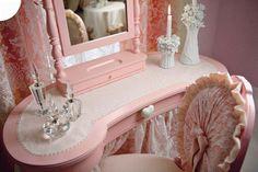 Pink Princess Room - Textures and Fabrics